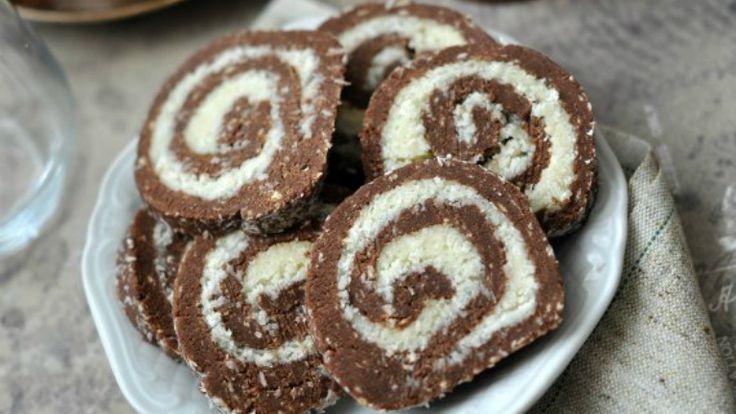 Gyerekkorunk kedvence: kókusztekercs (keksztekercs)