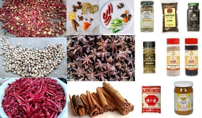 Dry Chinese spices go beyond Chinese five spice powder and can sometimes be confusing so this is a reference for the Chinese spices we use in our recipes