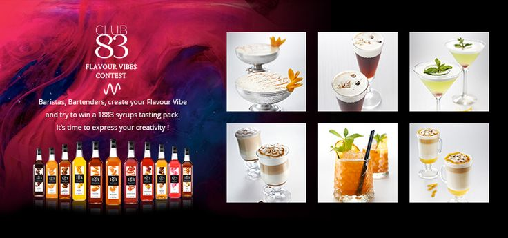 #Baristas, #Bartenders, participate in the Flavour Vibes contest, express your creativity and get a chance to win an 1883 syrups tasting pack! http://bit.ly/1J1QAxH