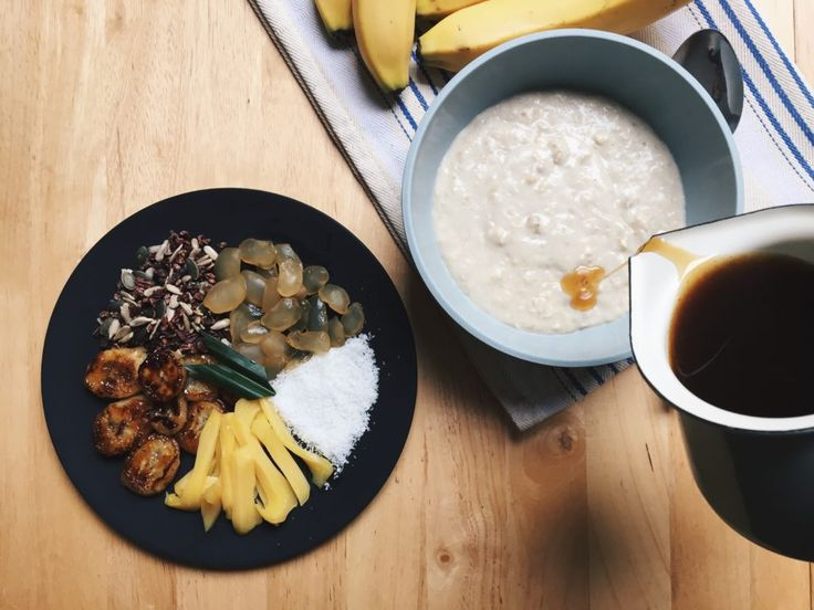 What do you have for breakfast everyday? Whenever I have the time, I would make a hearty sweet porridge for my breakfast. I used to have only one recipe for breakfast porridge, and I'm pretty sure …