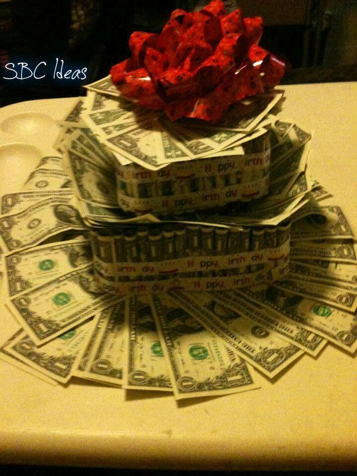31 Best Money Cakes Images On Pinterest Money Cake