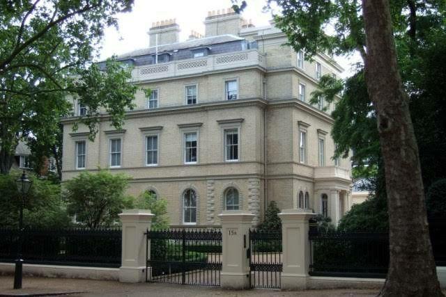 Kensington Palace Gardens Houses For Sale
