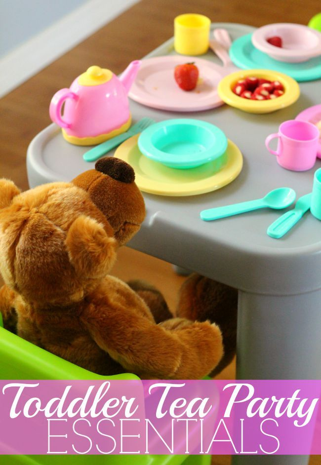 Toddler Tea Party | Step2 Mighty My Size Table & Chairs Review - Check out this list of ultimate toddler tea party essentials, snacks & ideas + Step2 review (AD)