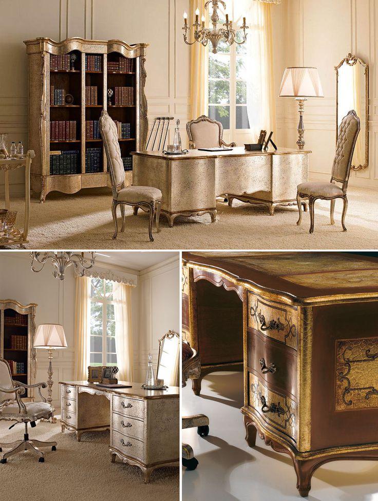 Even a place meant for work can be turned into a masterpiece of classic style. Anche un luogo di lavoro può rivelarsi un capolavoro di classicità.