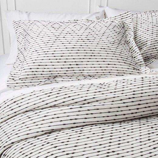 gray woven duvet cover set nate berkus modern duvet coversduvet setsduvet