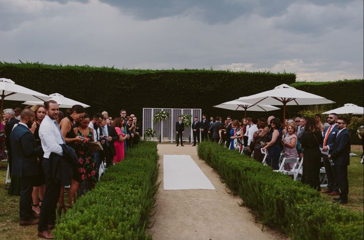 The Italian Garden at Coombe Yarra Valley.  I love it there.  Celebrant: Sally Hughes Image: Beck Rocchi Photography