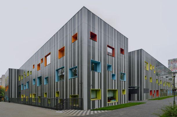 Новая школа в Хорошево-Мневниках