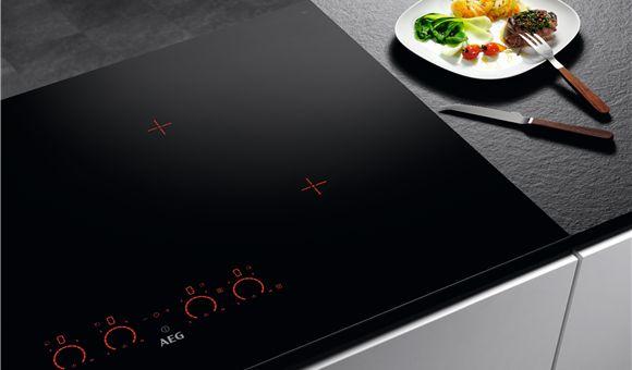 60cm Pure 3 Optizone Induction Cooktop Hk673520fb Aeg Australia Kitchen Stove Induction Cooktop Cooktop