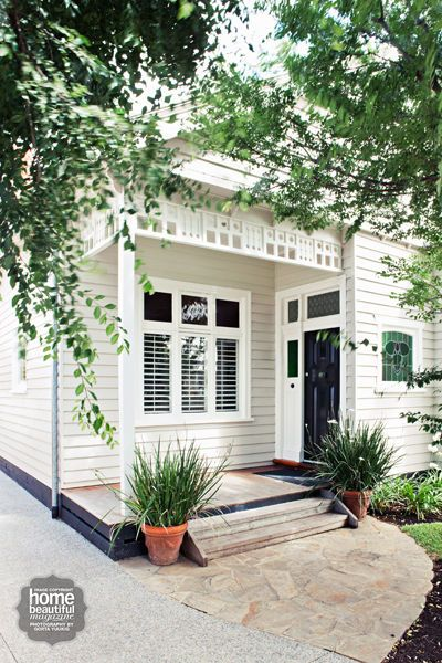 25 best ideas about weatherboard house on pinterest - Average cost to paint exterior house trim ...