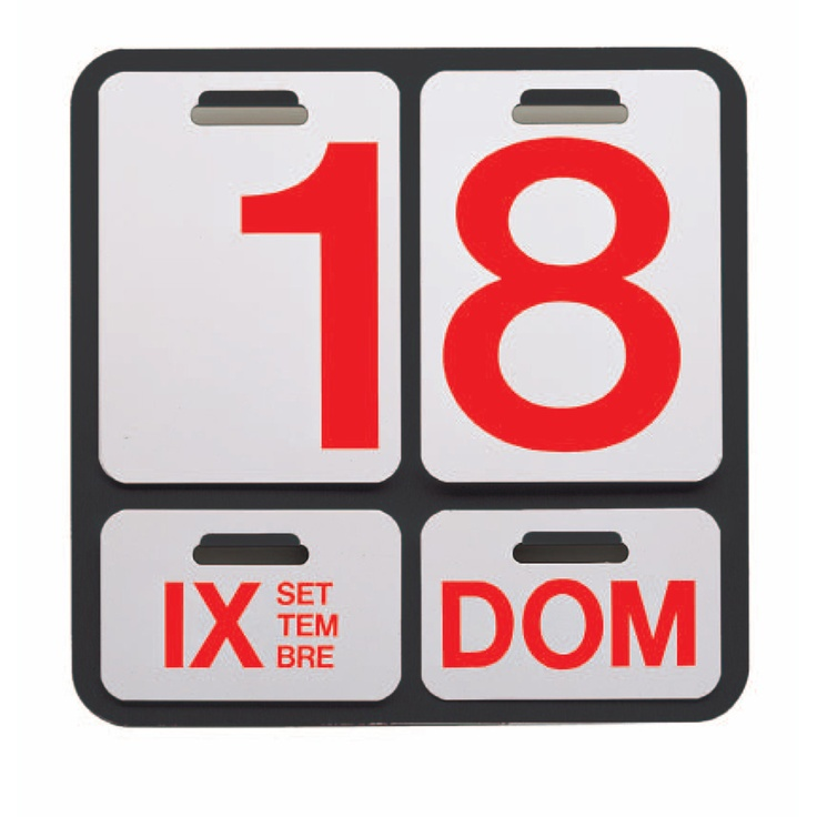 Der Wand-Kalender Formosa ist ein echter Klassiker und wurde 1962 von Enzo Mari für Danese Milano entworfen. Er bleibt ewig gültig und dank seiner zeitlosen Optik auch im 3. Jahrtausend noch immer aktuell. Der Wand-Kalender ist in den vier Sprachen Italienisch, Englisch, Französisch und Deutsch erhältlich. Er besteht aus eloxiertem Aluminium mit lithographiertem PVC-Blättern.