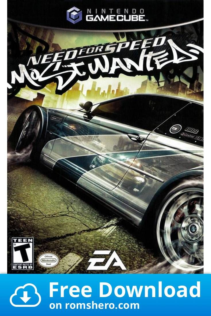 Download Need For Speed Most Wanted Gamecube Rom Need For Speed Need For Speed Games Robot Game