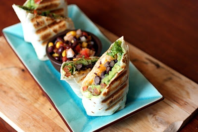 Black Bean and Guac Burrito