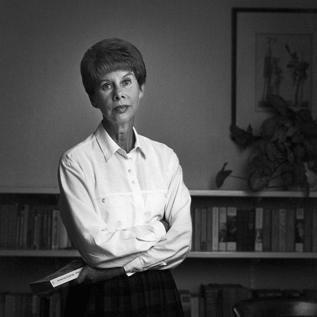 Anita Brookner, CBE (1928-2016): British award-winning novelist and art historian. She was Slade Professor of Fine Art at the University of Cambridge from 1967 to 1968 and was the first woman to hold this visiting professorship. She was awarded the 1984 Man Booker Prize for her novel Hotel du Lac.
