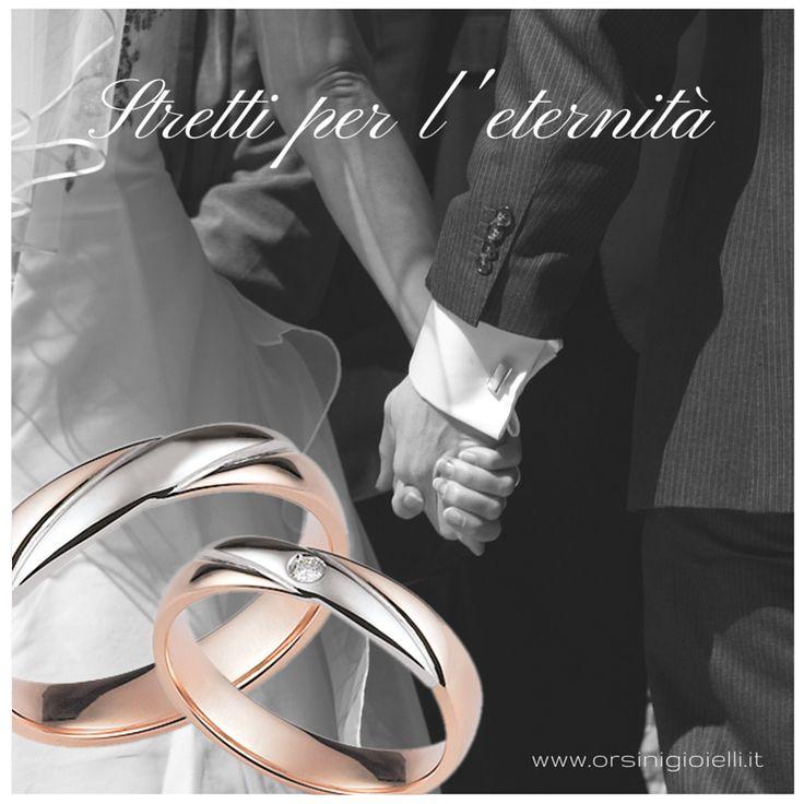 Quando la mano di un uomo tocca la mano di una donna, entrambi toccano il cuore dell'eternità. K.Gibran #FediOrsini #bridal #weddingring