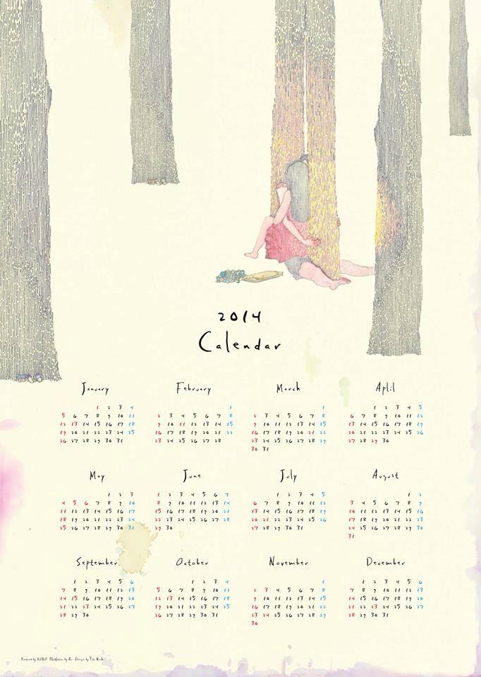 HOBO 2014 Calendar