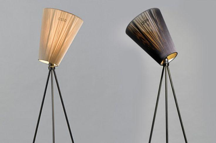 Oslo Wood lampe, Northern Lightning