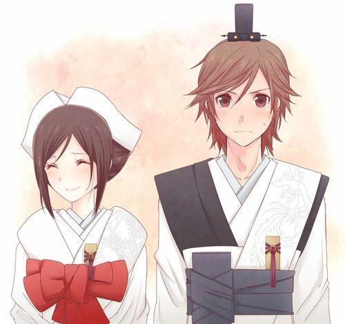 Shinsekai yori | at the end, satoru and saki got married..Glad that its not about yaoi or yuri things