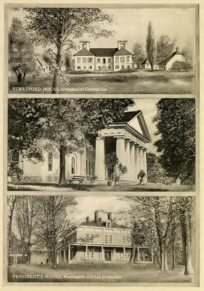 Three Historic Homes of General Robert E. Lee