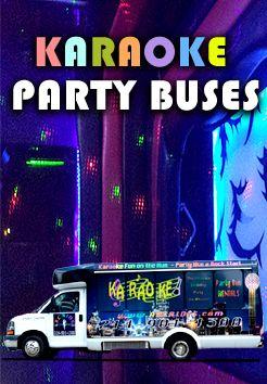 Dallas Karaoke Party Bus   Karaoke Limo Bus Dallas TX