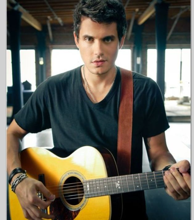 John Mayer!! I absolutely LOVE to listen to him play his guitar. Awesomeness.