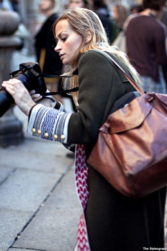 Milano Camera Moda Street Style Photographer Coat