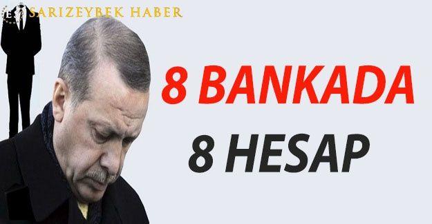 Erdoğan'ın İsviçre'deki hesapları belgelendi...AMA O HALA ÇOK FAKİR VE ÇOK MAĞDUR..