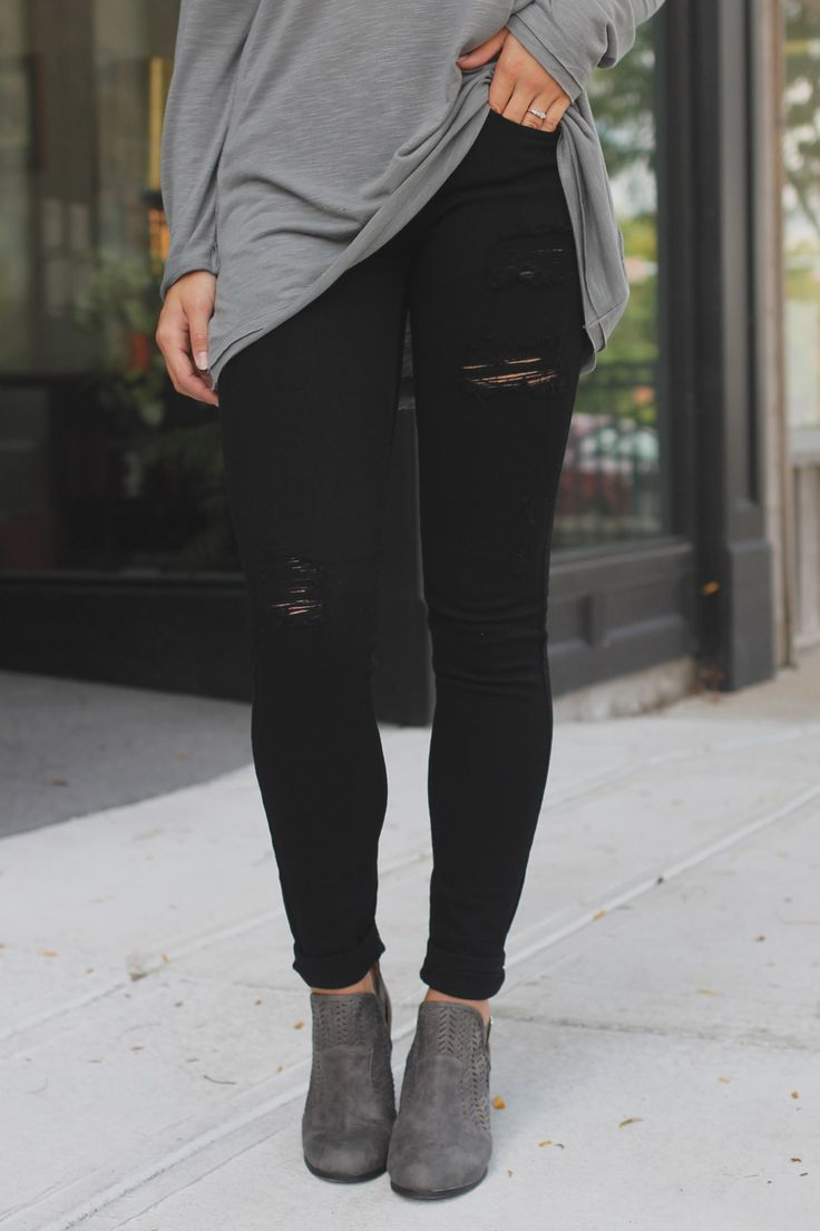 25  best ideas about Black Jeans Outfit on Pinterest | Black jeans ...