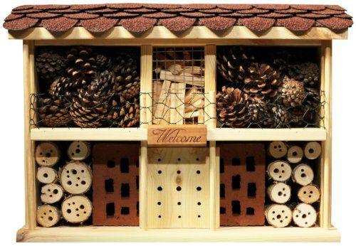 """""""Luxus-Insektenhotels 5 Insektenhotel-Bausatz Landhaus Komfort einfaches Dübel-Stecksystem"""" jetzt hier anschauen: http://insektenhotel-kaufen.de/insektenhotel/luxus-insektenhotels-5-insektenhotel-bausatz-landhaus-komfort-einfaches-duebel-stecksystem/"""