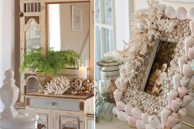 Sea Shell Home Decor.  Johnny Sims