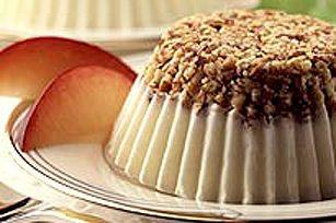 No Bake Almond Mini Cheesecakes