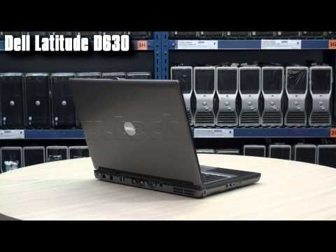 Notebook Dell Latitude D630 Intel Core 2 Duo 2,0 GHz T7300, 2 GB RAM DDR2, 80 GB HDD, DVD-ROM, COA štítek Windows XP PRO s kabelem