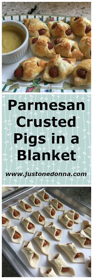 Parmesan cheese makes these the best pigs in a blanket you'll ever eat.  Parmesan Crusted Pigs in a Blanket