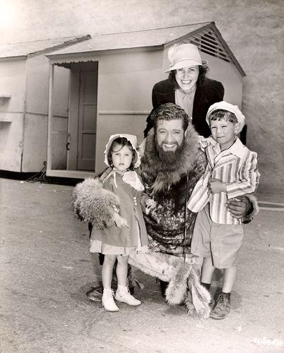 Dennis Morgan And Family Dennis Movie Stars Film