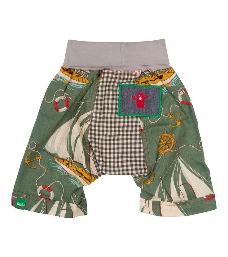 Ahoy Short, Oishi-m Clothing for kids, HiSummer 2016, www.oishi-m.com