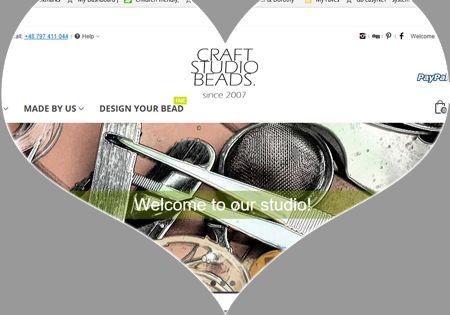 Hello new eshop! - craftstudiobeads.eu
