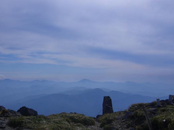 Gessan (1984m), Yamagata-ken  月山(出羽三山)山形県