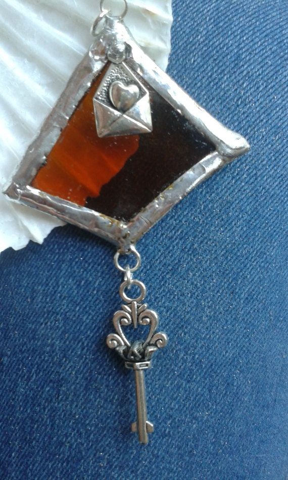 Hey, I found this really awesome Etsy listing at https://www.etsy.com/listing/501734176/handmade-stained-glass-pendant-with-an