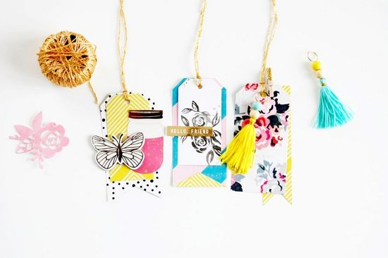 Under 30 Minutes: Custom Tags by Laetitia