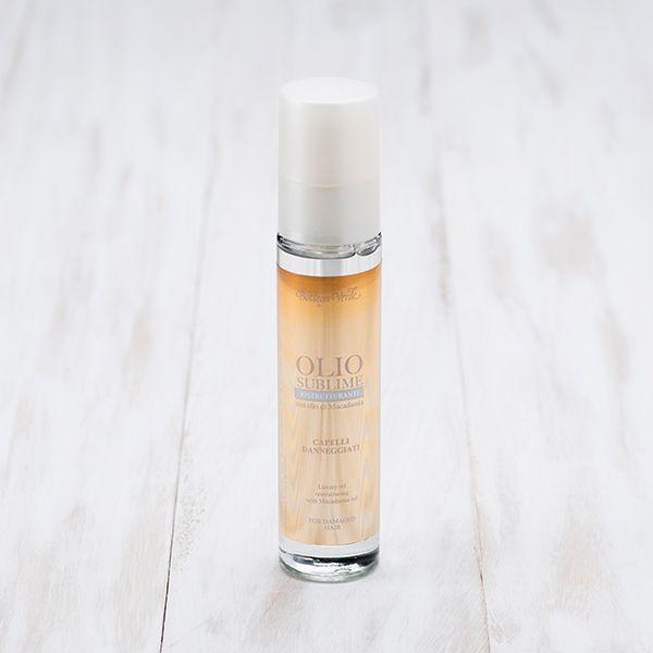 Olio sublime - ristrutturante - con olio di Macadamia - capelli danneggiati (50 ml)