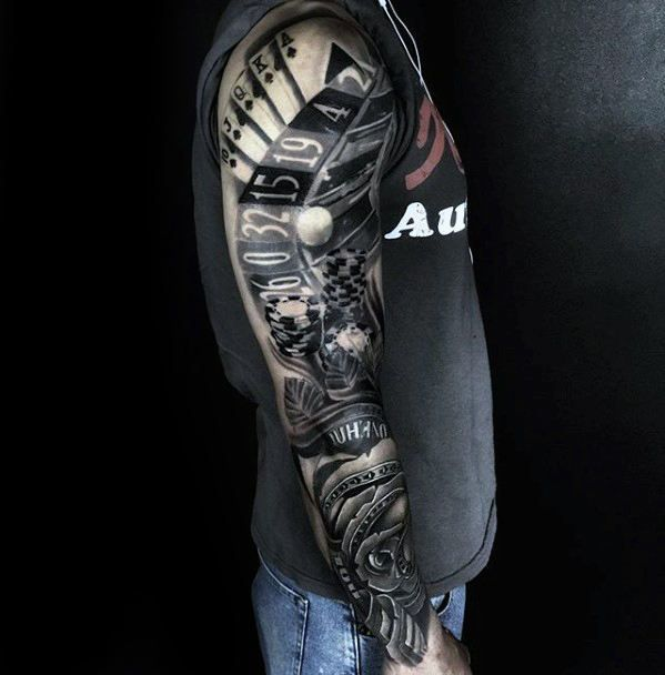 14 best money images on pinterest tattoo ideas tattoo for Money tattoo sleeve