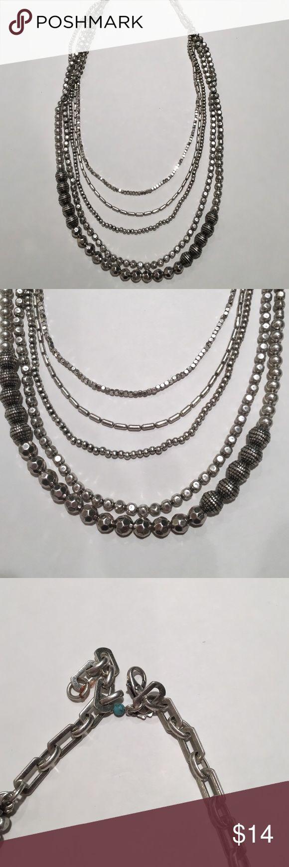 Lucky Brand necklace! Lucky Brand multi-strand necklace. Lucky Brand Jewelry Necklaces