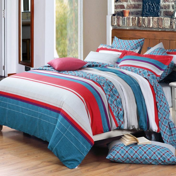 Red White And Blue Bedding Sets