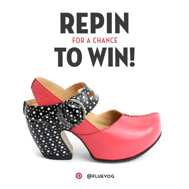 Repin this Find image for a chance to WIN a pair of Spring/Summer 2016 Find heels from John Fluevog Shoes! Please visit http://vo.gg/ZCU9D for full contest rules. Contest has ENDED! Thank you everyone for participating.