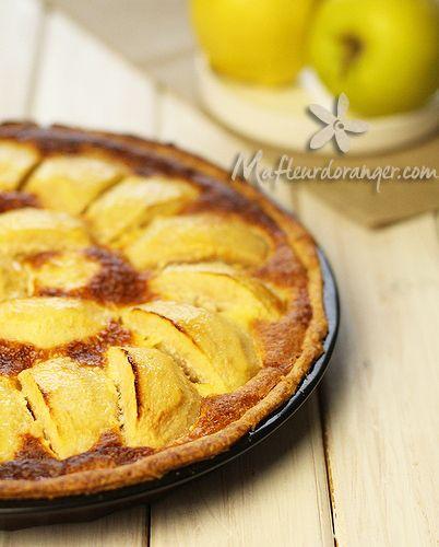 Ma fleur d'oranger vous propose une tarte alsacienne facile à préparer.