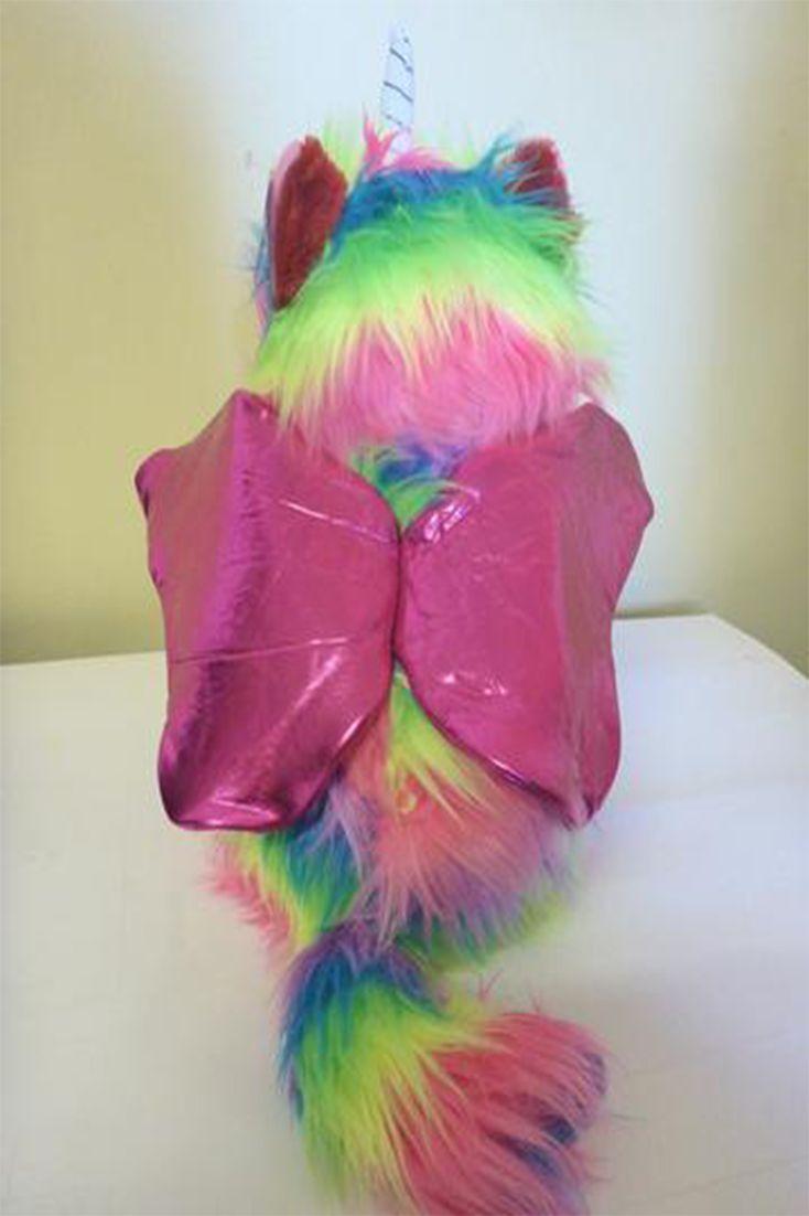 Rainbow Butterfly Toy Kitten Unicorn