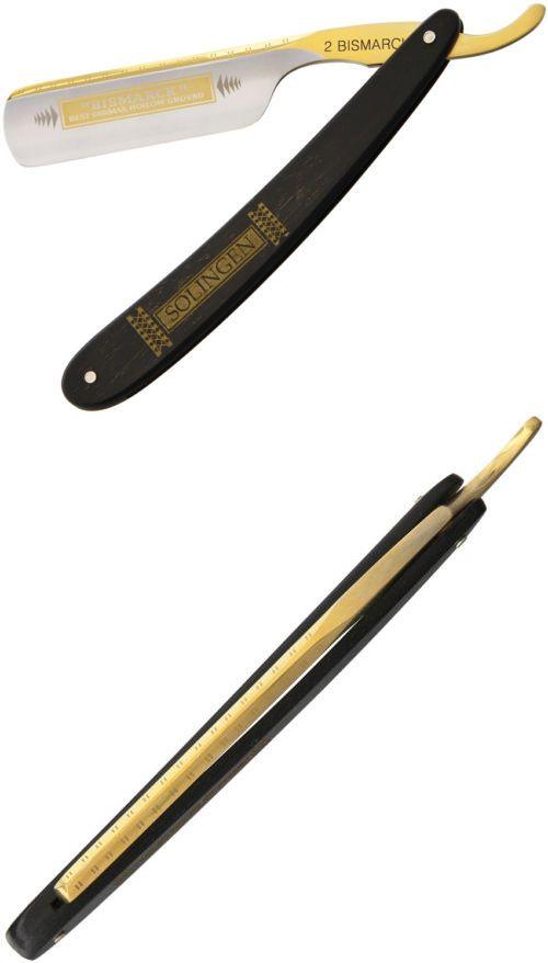 Straight Razors: Dovo Straight Razor Bismark Knife 2 6810 6 1/4 Closed. 3 Gold Washed, Acid Etc -> BUY IT NOW ONLY: $198.44 on eBay!