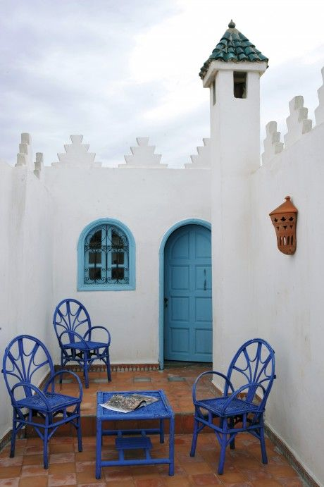 75_Majorelle Blue Chairs