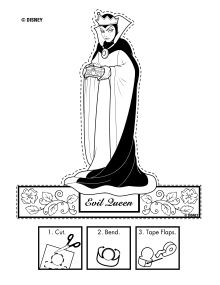 Evil Queen Puppet Disney Snow