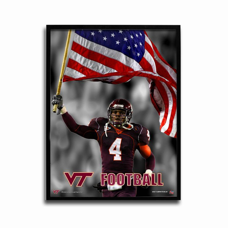The Team Spirit Store is the official online source for the Virginia Tech VT Football poster and other authentic Hokies merchandise and game day gear
