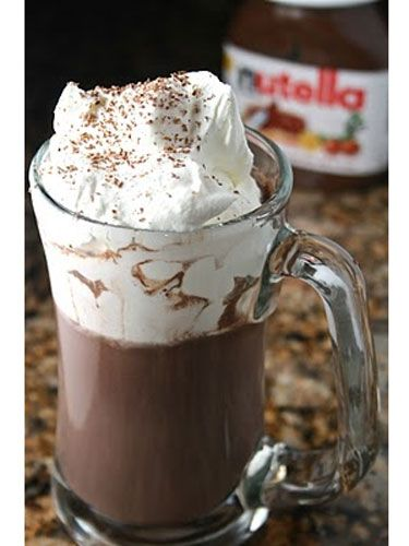 amazing nutella hot chocolate recipe. Well, I'm guessing we don't need this